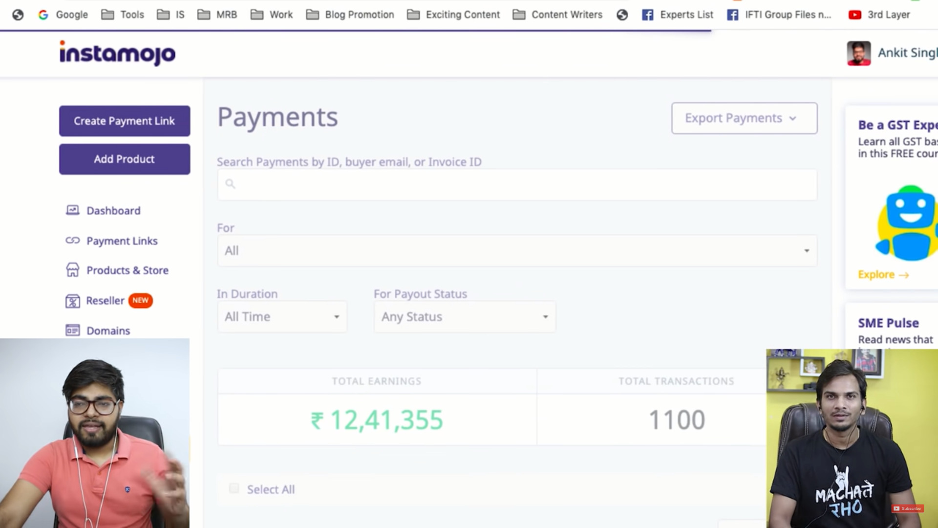 Master Blogging Income Report Reveal By Ankit Singla (Kitna Kamate Hain Per Month Reveal By Ankit Singla)